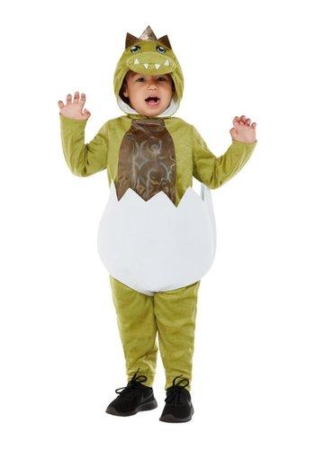 Deluxe Dino kostuum voor peuters