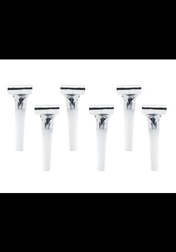 Sparkling Silver roltongen - 6 stuks