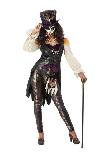 Deluxe Voodoo Witch Doctor Kostuum