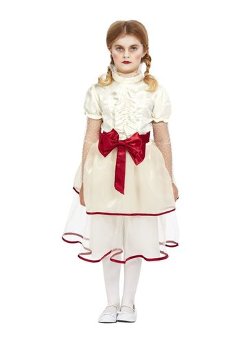 Porseleinen poppen kostuum
