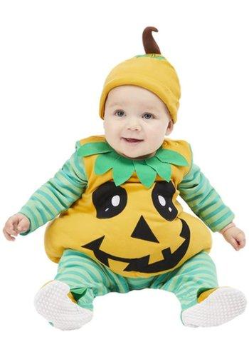 Pompoen Baby Kostuum