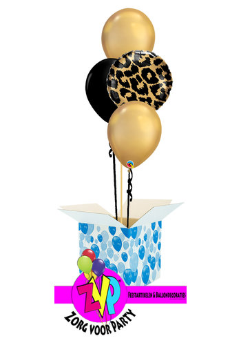 Leopard Balloon Set