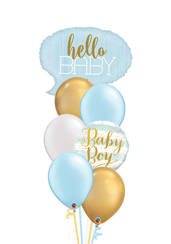 Hello Baby Boy Set