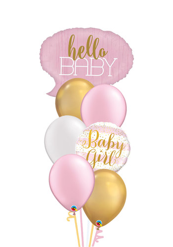 Hello Baby Girl Set