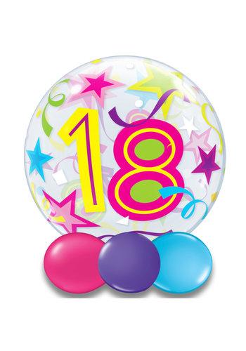 Bubble Ballon Gekleurd 18 - 55cm