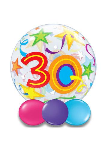 Bubble Ballon Gekleurd 30 - 55cm