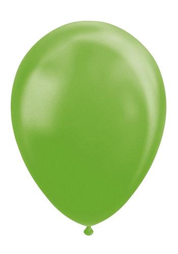 Metallic Lime Groen - 30cm - 100 stuks
