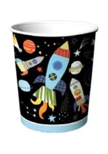 Out of Space Bekertjes - 8 st - 250ml