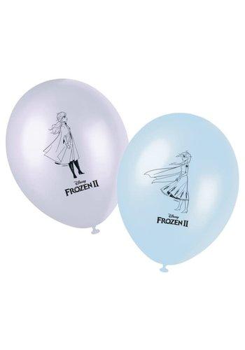 Ballonnen Frozen 2 - 8 st