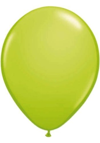 Lime Groen - 30cm - 25 stuks