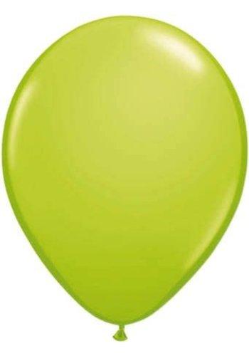 Lime Groen - 30cm - 100 stuks
