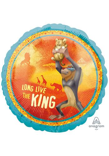 Folieballon The Lion King - 45cm