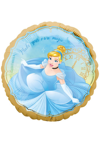 Folieballon Cinderella Once Upon A Time - 45cm