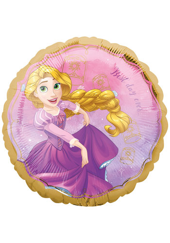 Folieballon Rapunzel Once Upon A Time - 45cm