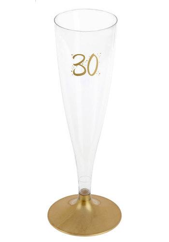 Champagne Flute - 30 Jaar - 140ml - 6st