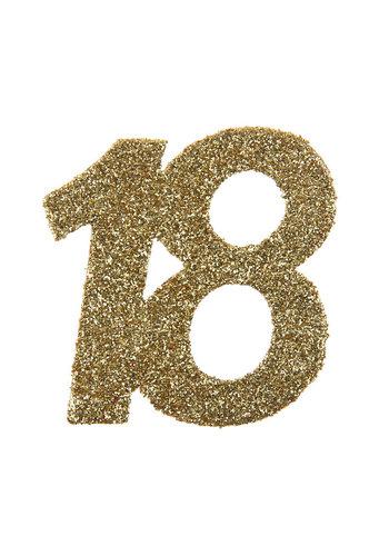 Glitter Confetti 18 - 6st - 6x6cm
