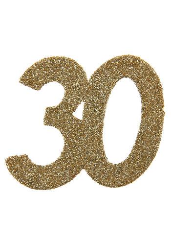 Glitter Confetti 30 - 6st - 6x6cm