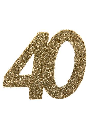Glitter Confetti 40 - 6st - 6x6cm