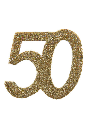 Glitter Confetti 50 - 6st - 6x6cm