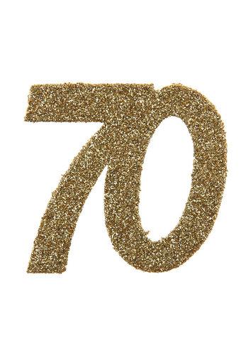 Glitter Confetti 70 - 6st - 6x6cm