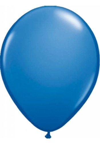 Metallic Donker Blauw - 30cm - 100 stuks