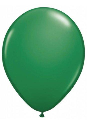 Metallic Donker Groen - 30cm - 100 stuks