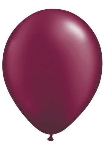 Metallic Bordeaux - 30cm - 100 stuks