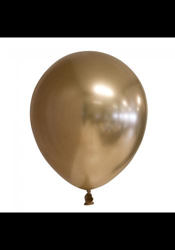 Ballonnen Chrome Goud - 25st - 30cm