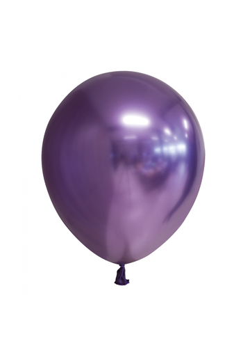 Ballonnen Chrome Paars - 30cm - 10 stuks