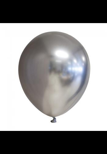 Ballonnen Chrome Zilver - 30cm - 10 stuks