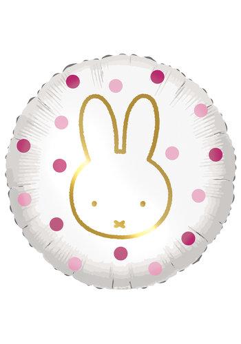 Folieballon - Nijntje Roze - 45cm