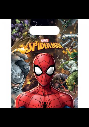 Spiderman Uitdeelzakjes - 6 stuks
