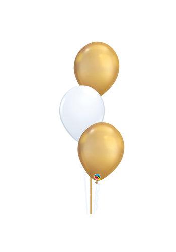 Tafeldecoratie Chique - 3 Heliumballonnen