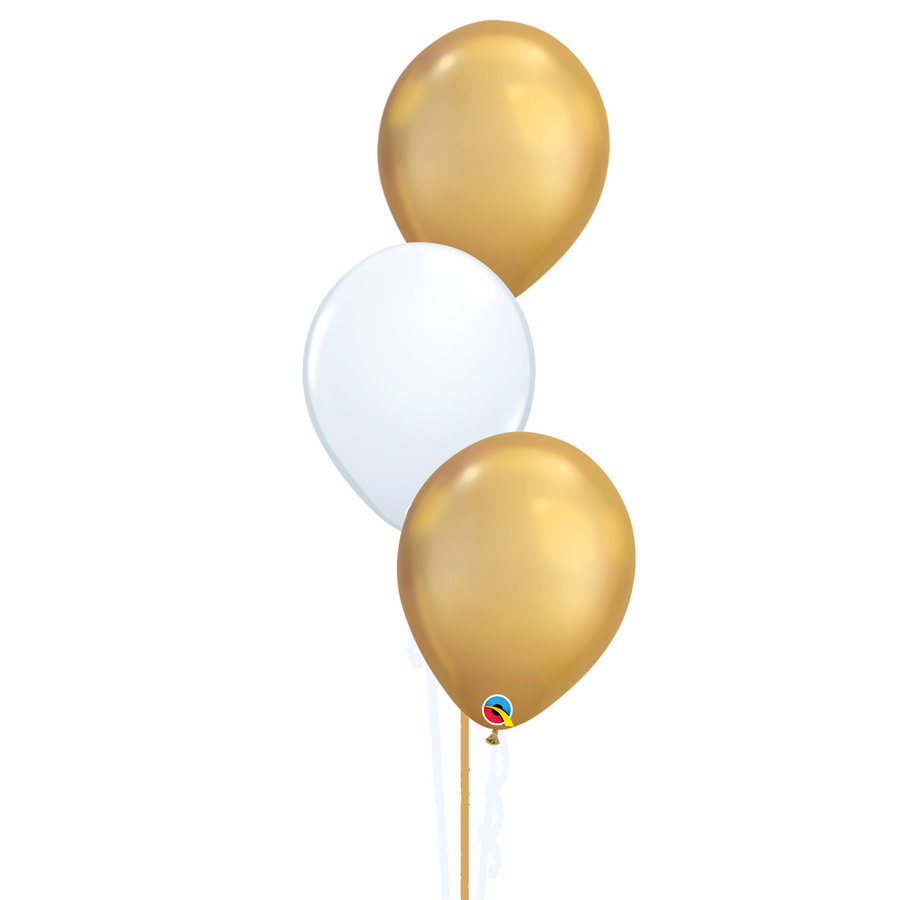 Tafeldecoratie Chique - 3 Heliumballonnen-1