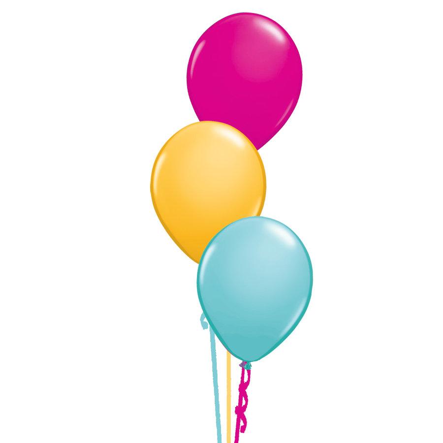Tafeldecoratie Fashion - 3 Heliumballonnen-1
