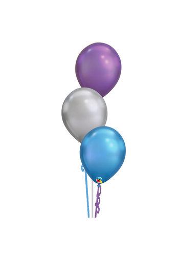 Tafeldecoratie Galaxy - 3 Heliumballonnen