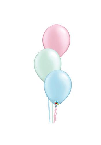 Tafeldecoratie Pastel - 3 Heliumballonnen