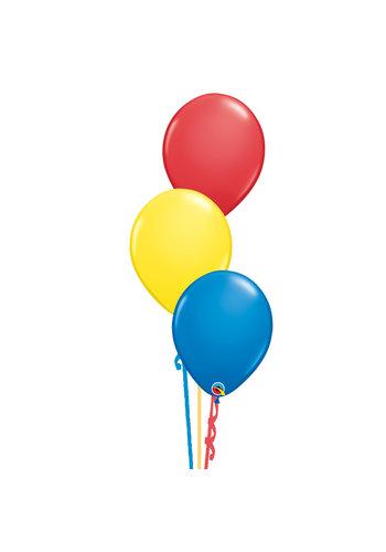 Tafeldecoratie Primair - 3 Heliumballonnen