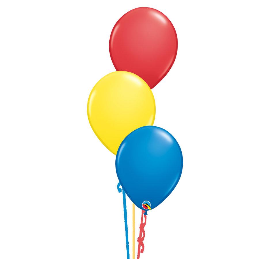 Tafeldecoratie Primair - 3 Heliumballonnen-1