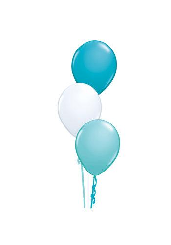 Tafeldecoratie Ibiza - 3 Heliumballonnen