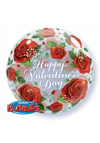 Bubble Happy Valentine's Day - 55cm