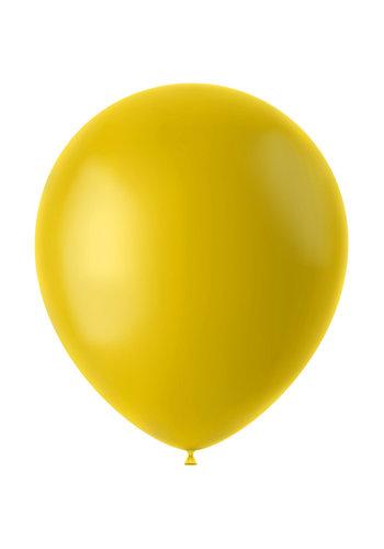Ballonnen Tuscan Yellow Mat - 33cm - 10 stuks
