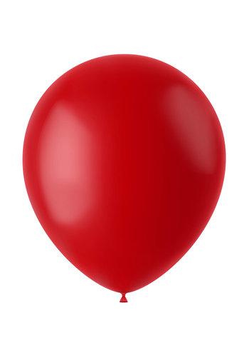 Ballonnen Ruby Red Mat - 33cm - 10 stuks