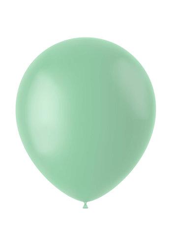 Ballonnen Powder Pistache Mat - 33cm - 10 stuks
