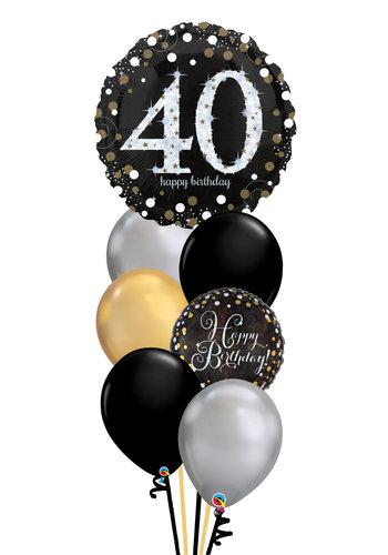 Sparkling Happy Birthday Balloon Set