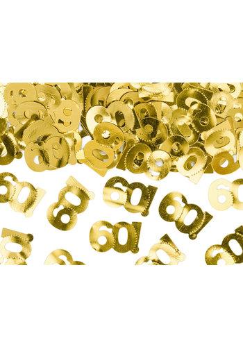 Tafel Confetti 60 Goud - 15 gram