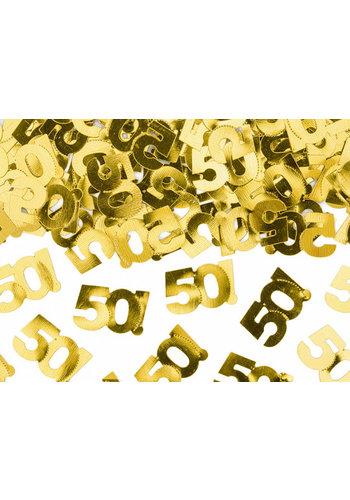 Tafel Confetti 50 Goud - 15 gram