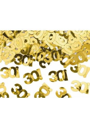 Tafel Confetti 30 Goud - 15 gram