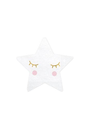 Servetten Little Star - 20st - 16x16cm
