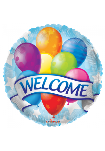Folieballon - Welcome - 45cm